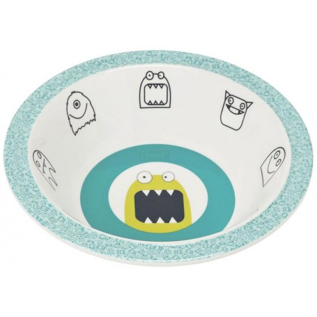 Bowl with Silicone Little Monsters bouncing bob