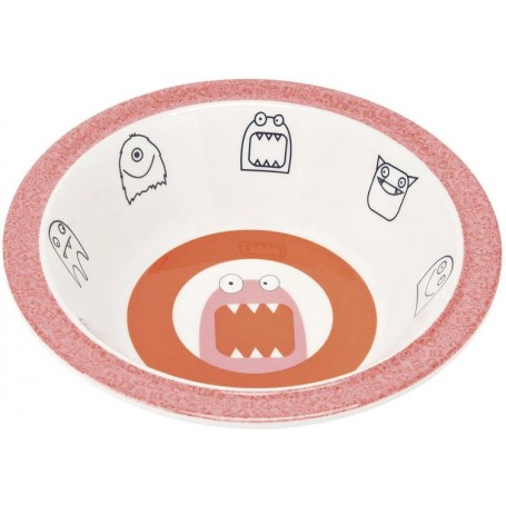 Bowl with Silicone Little Monsters mad mabel