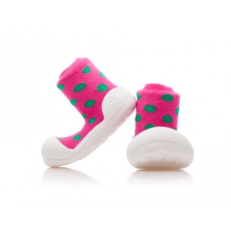 Attipas botičky Polka Dot Pink