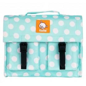 TULA TULA batůžek/malá aktovka - Mint Candy Dots
