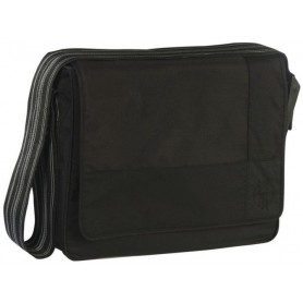 Casual Messenger Bag Patchwork black