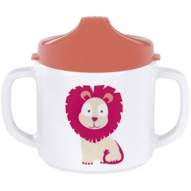 Cup with Silicone lion