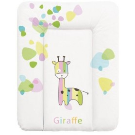 Ceba Baby Přebalovací podložka měkká 50x70 cm - Žirafa