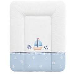 Ceba Baby Přebalovací podložka měkká 50x70 cm - Námořník