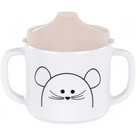 Cup with Silicone Little Chums mouse
