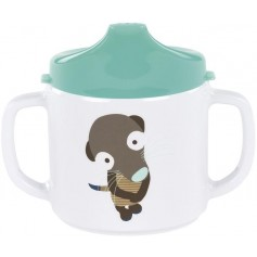 Cup with Silicone meerkat