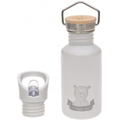 Bottle Stainless Steel Adventure grey