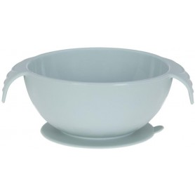 Bowl Silicone blue with suction pad