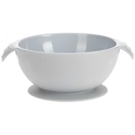 Bowl Silicone grey with suction pad
