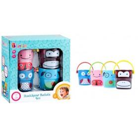 BamBam hračka ke koupání kelímky 4 ks