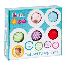 BamBam sada senzorických míčků 8ks