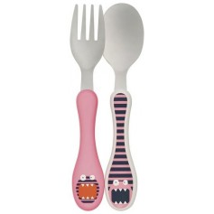 Cutlery Stainless Steel Little Monsters mad mabel