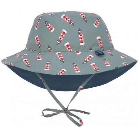 Sun Bucket Hat lighthouse 09-12 mo.