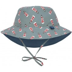 Sun Bucket Hat lighthouse 09-12 mo.