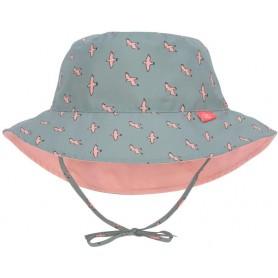 Sun Bucket Hat seagull green 09-12 mo.