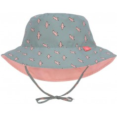 Sun Bucket Hat seagull green 18-36 mo.