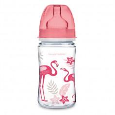 Canpol babies láhev se širokým hrdlem JUNGLE 240 ml