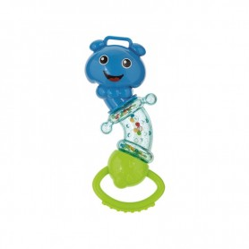 Canpol babies chrastítko rotační housenka modrá