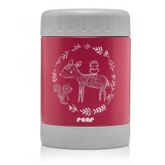 Reer Termoska 350 ml široká červená ColourDesign