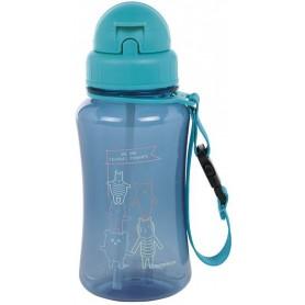 Drinking Bottle About Friends blue
