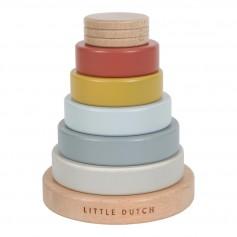 Little Dutch Nasazovací kroužky barevné