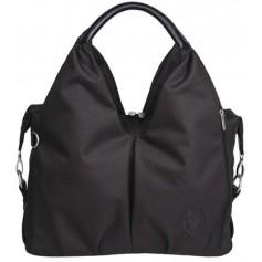 Green Label Neckline Bag black