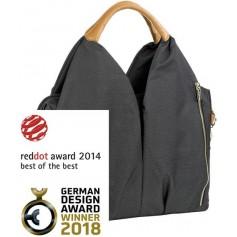 Green Label Neckline Bag denim black