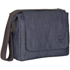 Green Label Small Messenger Bag Update denim blue