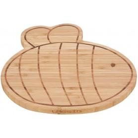 Breakfast Board Bamboo Garden Explorer bee