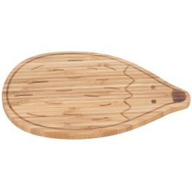 Breakfast Board Bamboo Garden Explorer hedgehog