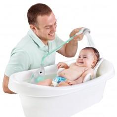 Yookidoo Dětská sprcha slon - šedo-tyrkysová