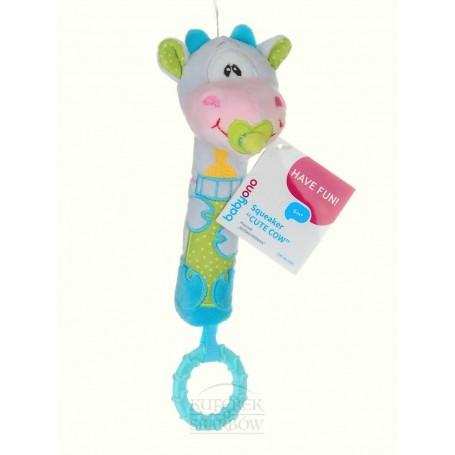 BabyOno pískací hračka kravička, 6m+