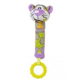 BabyOno pískací hračka kočka , 6m+