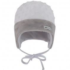 ESITO dětská zimní čepice minky Méďa