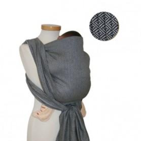 Storchenwiege Leo Černobílý šátek na nošení 4,6m