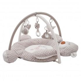 PlayTo luxusní hrací deka z minky s melodií - medvídek
