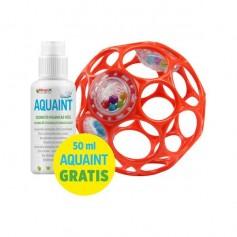 OBALL Rattle chrastítko 10 cm + DÁREK Aquaint 50 ml