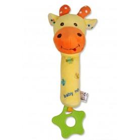 Baby Mix pískací žirafa, 0m+