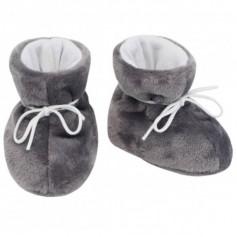 ESITO Kojenecké botičky Magna - šedá