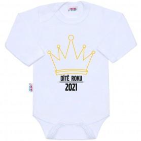 New Baby body s potiskem DÍTĚ ROKU 2021