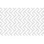 LALALU hrací podložka PREMIUM M - WHITE STAR 185x140 cm