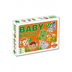 Dohany dětské baby puzzle - ZOO safari