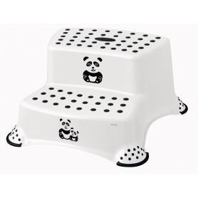 """Keeper Dvojstupínek k WC/umyvadlu """"Panda"""", Bílá"""