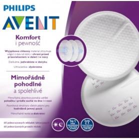 Philips AVENT Prsní vložky jednorázové 60 ks