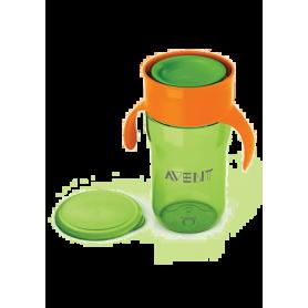 AVENT První skutečný hrneček 340 ml - zelená