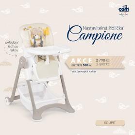 CAM jídelní židlička CAMPIONE