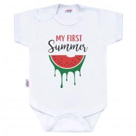 New Baby body s potiskem MY FIRST SUMMER