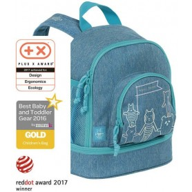 Mini Backpack About Friends mélange blue