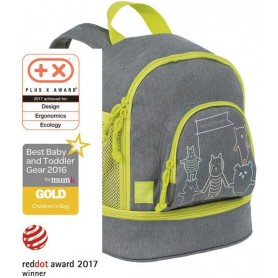 Mini Backpack About Friends mélange grey