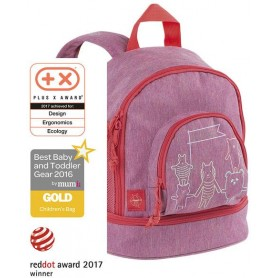 Mini Backpack About Friends mélange pink